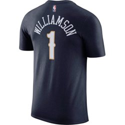 Men's New Orleans Pelicans Zion Williamson Name and Number T-shirt