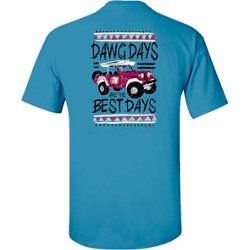 Men's Mississippi State University Distress Jeep T-shirt