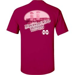Men's Mississippi State University Team Engraving Short Sleeve T-shirt