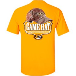 Men's University of Missouri Camo Hat T-shirt
