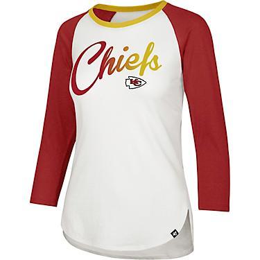 01ff0530 '47 Kansas City Chiefs Women's Gradient Splitter Raglan Shirt