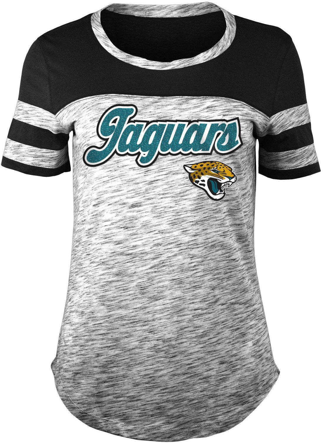 size 40 64320 12118 5th & Ocean Clothing Women's Jacksonville Jaguars Space Dye T-shirt
