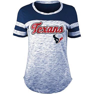 buy online 30b1e dddd4 5th & Ocean Clothing Women's Houston Texans Space Dye T-shirt