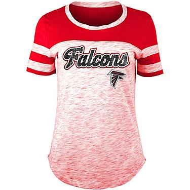 b62cb960 5th & Ocean Clothing Women's Atlanta Falcons Space Dye T-shirt