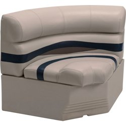 BM11002 Premier Pontoon 32 in Bow Radius Corner & Base Seat