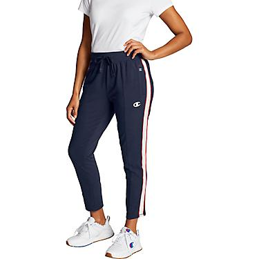 latest selection of 2019 2019 best new release Champion Women's Heritage Satin Stitch Fleece Pants