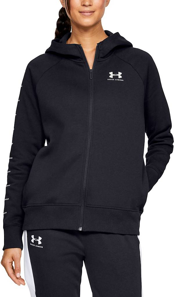 Under Armour Women's Rival Fleece Sportstyle LC Graphic Hoodie