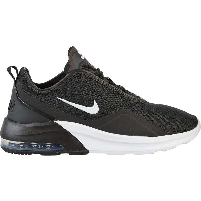Nike Women's Air Max Motion 2 Running Shoes Black/White, 10 ...