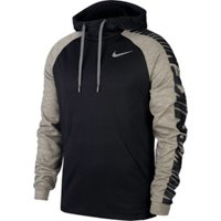 Deals on Nike Mens Therma GFX 3 Hooded Pullover Training Top