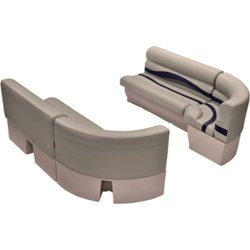 WS14032 Premier Bow Radius Corner Bench Pontoon Seats