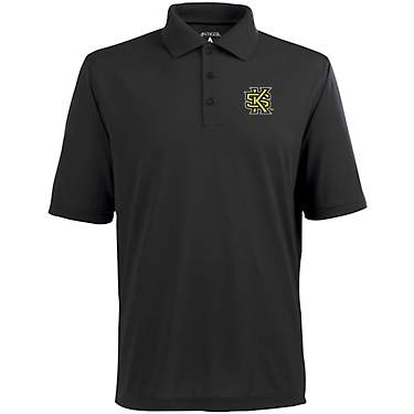 Antigua Men's Kennesaw State University Pique Xtra-Lite Polo Shirt