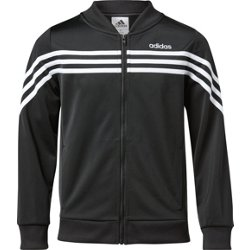 adidas Girls' Linear Tricot Jacket
