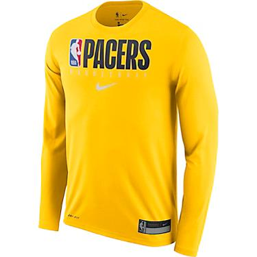 innovative design 2a045 d672a Nike Men's Indiana Pacers Dri-FIT Practice Graphic Long Sleeve T-shirt