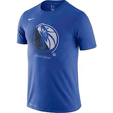 outlet store c179f d07cf Nike Men's Dallas Mavericks Dri-FIT Logo T-shirt