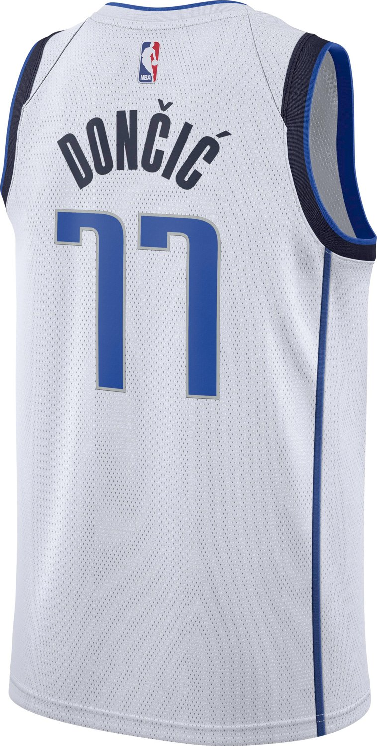 premium selection 7b08c 7906f Nike Men's Dallas Mavericks Luka Doncic Swingman Home Jersey