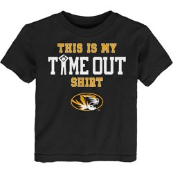 Toddler Boys' University of Missouri Time Out Graphic T-shirt