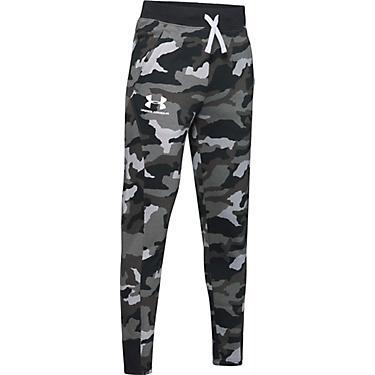 tanie z rabatem Data wydania: brak podatku od sprzedaży Under Armour Boys' Rival Camo Printed Jogger Pants