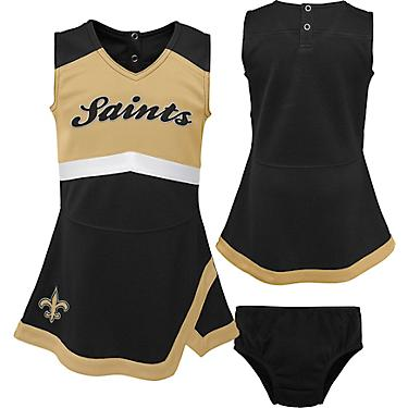buy popular 405d4 798ab NFL Toddler Girls' New Orleans Saints Cheer Captain Jumper Dress