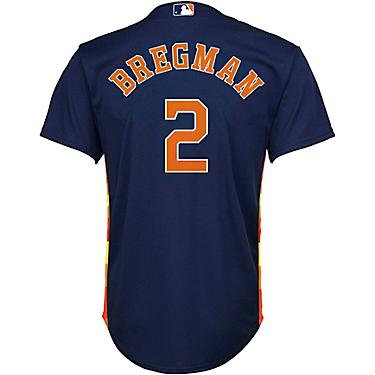 cheap for discount 4a036 08467 MLB Boys' Houston Astros Alex Bregman Alt 2 Sanitized Replica Jersey