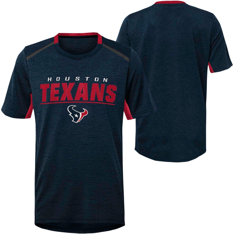 size 40 b5359 41728 NFL Boys' 4-7 Houston Texans Static T-shirt