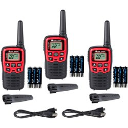 X-Talker T31X3VP Walkie Talkie 3-Pack