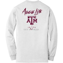 Men's Texas A&M University Get Hooked Long Sleeve T-shirt