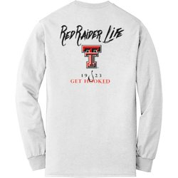 Men's Texas Tech University Get Hooked Long Sleeve T-shirt