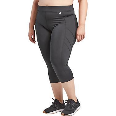 BCG Women\'s Athletic Contrast Stitch Plus Size Capri Pants ...
