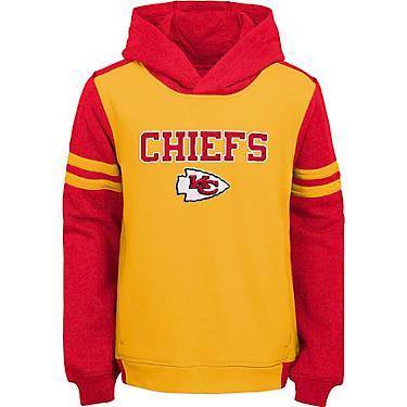 official photos d0393 36128 NFL Boys' Kansas City Chiefs Retro Block Pullover Hoodie