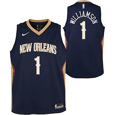 Nike Boys New Orleans Pelicans Zion Williamson 1 Icon Swingman Jersey