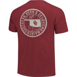 Men's University of Oklahoma Born and Raised Comfort Color T-shirt