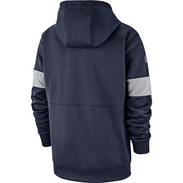 best authentic 73548 5b6ec Nike Men's Dallas Cowboys Therma Pullover Hoodie