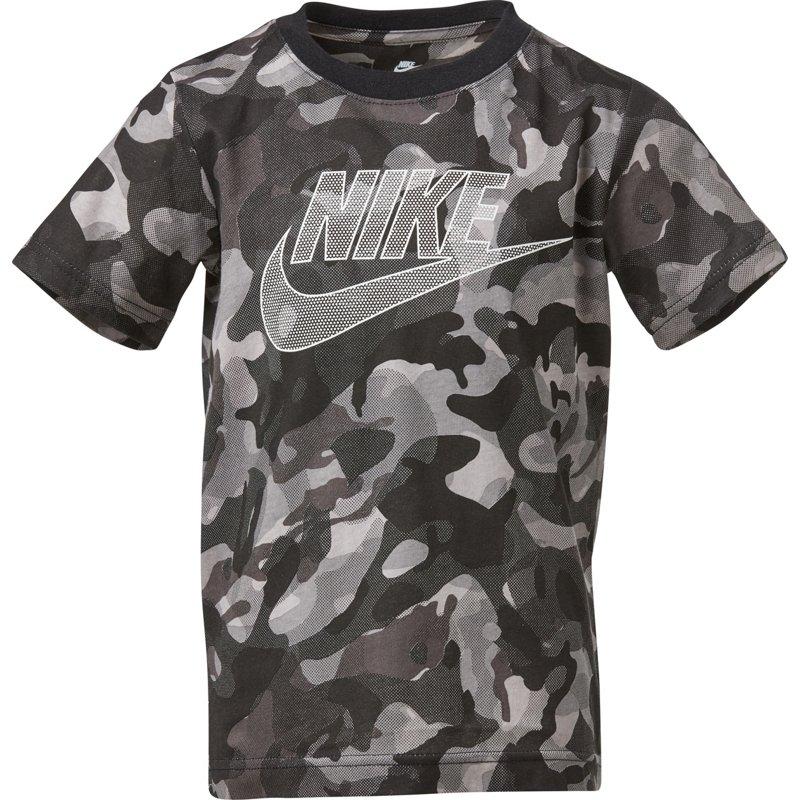 Nike Boys' Camo Futura T-Shirt Legion Green, 6 Youth - Boy's Athletic Tops at Academy Sports thumbnail