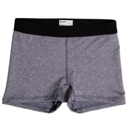 Juniors' Dri Team Heather Shorts