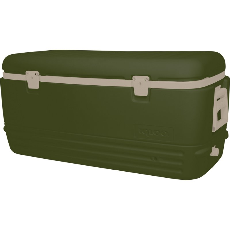 Igloo Polar 120 qt Max Cold Cooler Green - Ice Chests/Water Coolers at Academy Sports -  50095