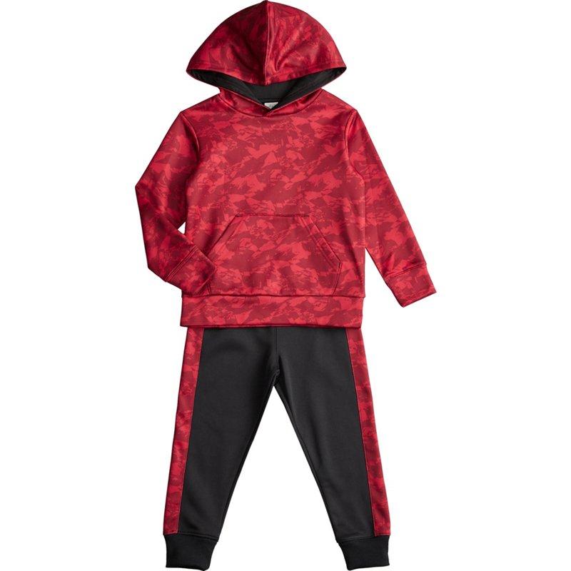 BCG Toddler Boys' Performance Camo Fleece 2-Piece Set Black/Red, 2 Toddler - Boy's Athletic Shorts at Academy Sports thumbnail