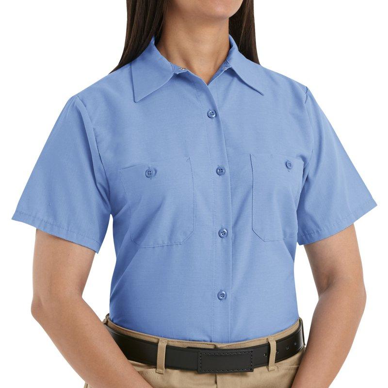 Red Kap Womens Short Sleeve Work Dress