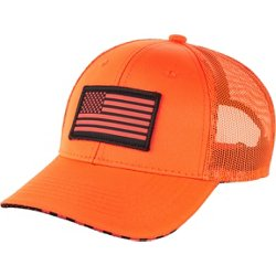 Men's Blaze Orange America Ball Cap