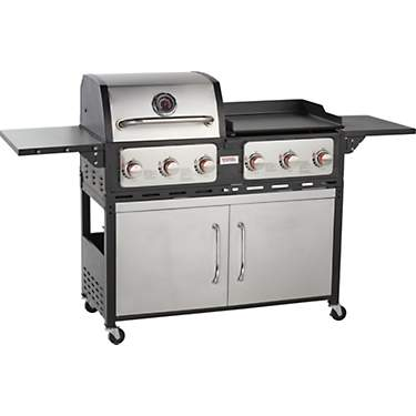 Outdoor Gourmet Gas and Griddle Combo