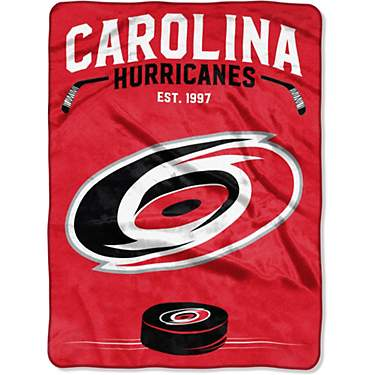 The Northwest Company Carolina Hurricanes Inspired Raschel Throw Blanket
