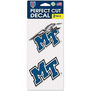 WinCraft Middle Tennessee State University 4 in x 4 in Decals 2-Pack