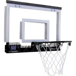 Over-the-Door 18 in LED Mini Basketball Hoop