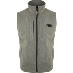 Men's Heather Windproof Layering Vest