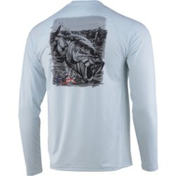 Men's Performance Air Bass Pursuit Long Sleeve Graphic T-shirt