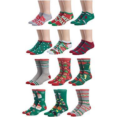 12 Days Of Christmas Socks.Magellan Outdoors Ugly Christmas 12 Days Of Holiday Socks