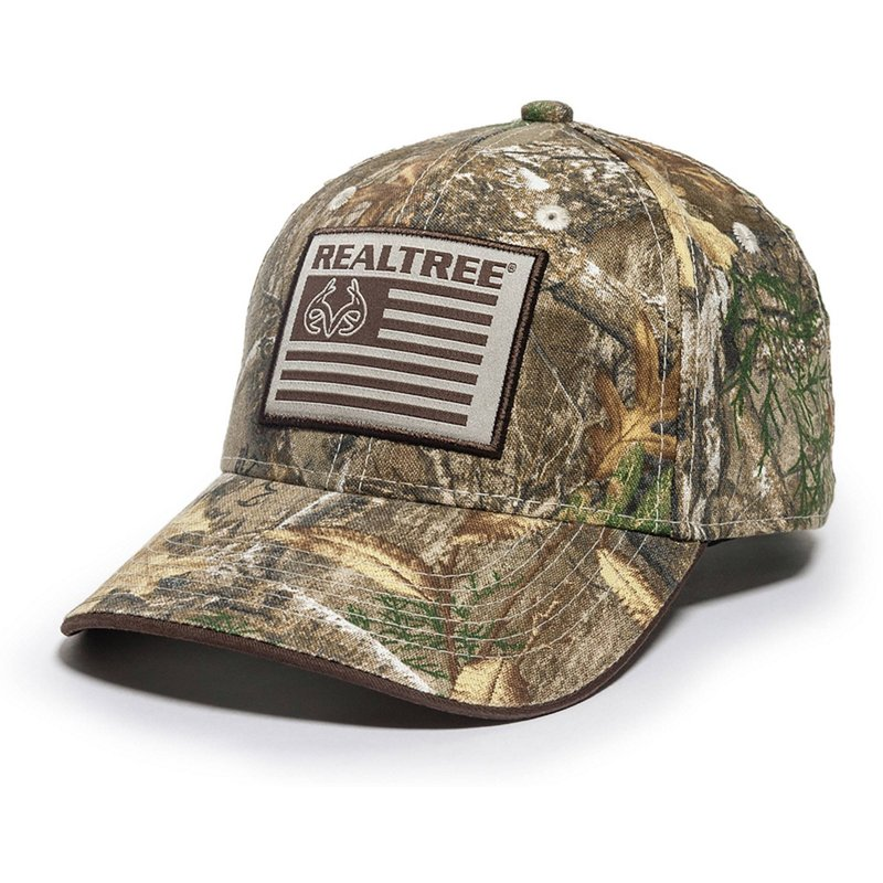 Outdoor Cap Men's Realtree America Cap – Basic Hunting Headwear at Academy Sports