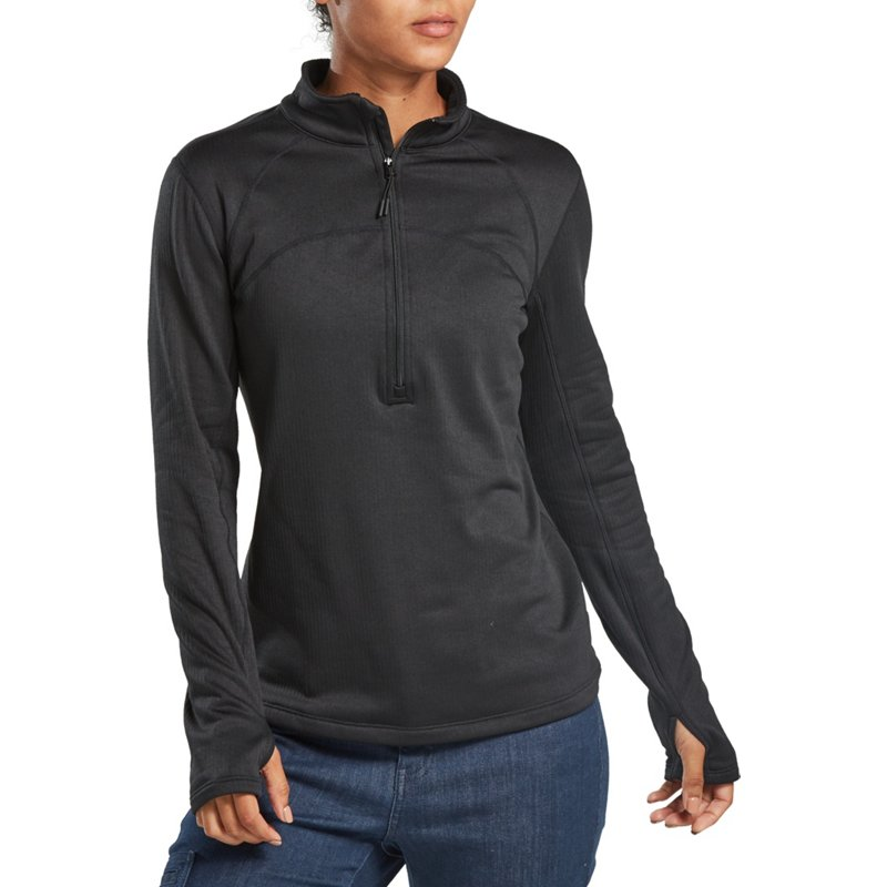 Magellan Outdoors Women's Baselayer 3.0 Thermal Vertical Fleece Top Black, X-Large – Men's Thermals at Academy Sports