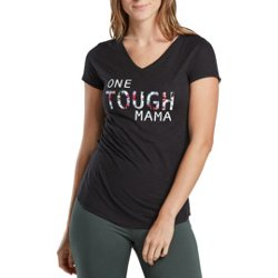 Women's Athletic One Tough Mama Graphic T-shirt