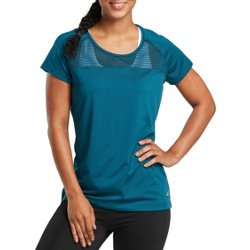 Women's Athletic Pieced Running T-shirt