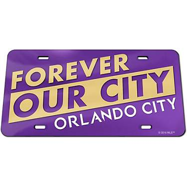 WinCraft Orlando City SC Classic Inlaid License Plate